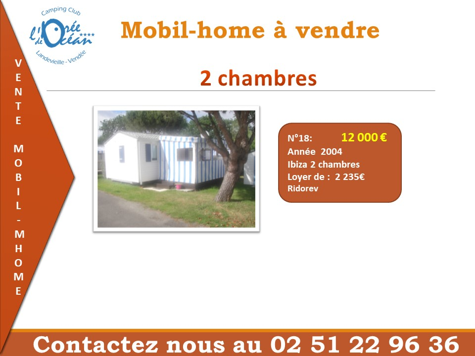liste mobil home 2 chambres 18 06 2018