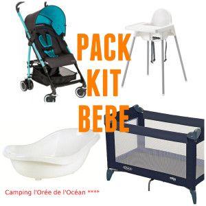 L'océan Kit Camping L'orée De Bébé Pack Rq43L5Aj